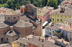 View of Brisighella. Emilia-Romagna. Italy. Stock Photography