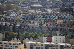 View on Bristol. England from the Cabot Tower royalty free stock photos