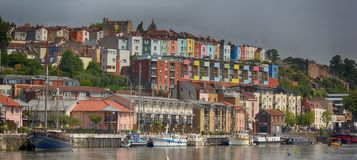 View of Bristol Docks, England, United Kingdom stock photography