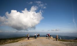 View from Brocken royalty free stock photos