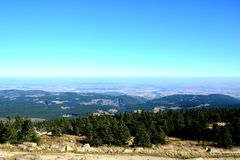 View from the Brocken Stock Photos