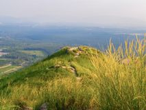 A view from Broga Hill, Semenyih. Broga Hill in Semenyih, selangor is one of the best places to hike within easy range of Kuala is only 400 metres high 1312 feet royalty free stock photos