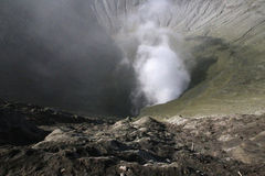 View from the Bromo Volcano Stock Image