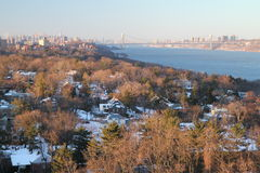 Bronx under snow Stock Photography