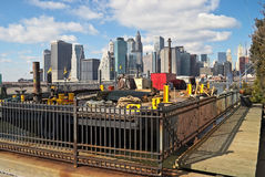 View From Brooklyn Stock Photography