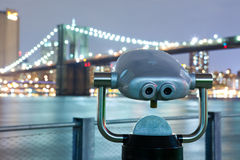 View of Brooklyn Bridge Stock Photo