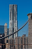 View from Brooklyn Bridge Royalty Free Stock Images