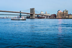 View on Brooklyn Bridge in New York Stock Images