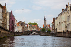 View of Bruges, Belgium Royalty Free Stock Photography