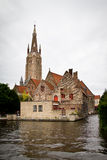 View of Brugge, Belgium Royalty Free Stock Images