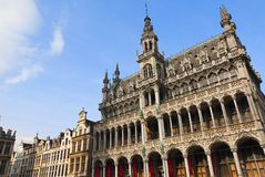Brussels grand place Royalty Free Stock Image