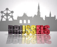 View of Brussels Stock Images
