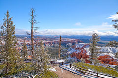 View Bryce Canyon in May 2011 Royalty Free Stock Photography