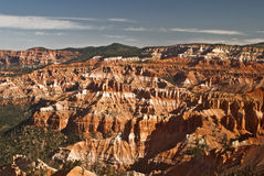 View of Bryce Canyon National Park. This is a close-up of hoodoos at Bryce Canyon National Park in Utah royalty free stock image
