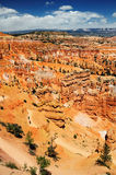 The view at Bryce canyon national park Stock Photography