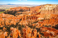 View of Bryce Canyon national park landscape before sunset. Utah, USA Royalty Free Stock Photography
