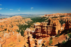 A View of Bryce Canyon National Prk Stock Photo