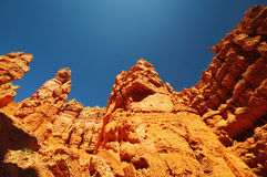 A View of Bryce Canyon National Prk Stock Photography