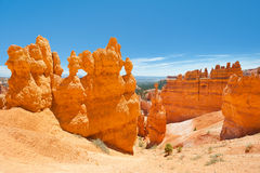 View of Bryce Canyon Royalty Free Stock Photo