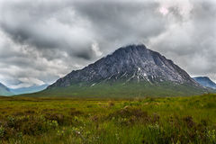 A view of Buachaille Etive Mòr Royalty Free Stock Photography