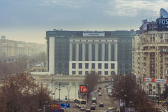 View of Bucharest center Royalty Free Stock Images