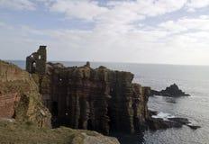 On the Northwest Coast of Scotland. Buchollie Castle, Caithness, Scotland, UK.