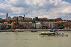 View of Buda, Budapest Royalty Free Stock Images