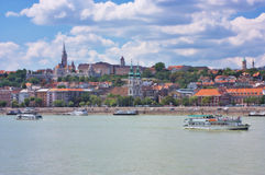View of Buda, Budapest Royalty Free Stock Photo
