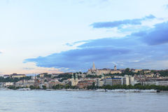 View on Buda Hill. Budapest. Hungary Royalty Free Stock Photography