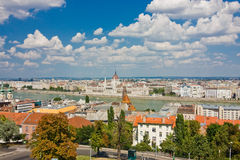 View of Buda and Pest Stock Photo