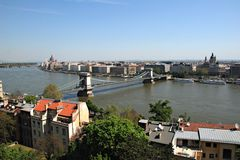 View at Budapest Royalty Free Stock Images