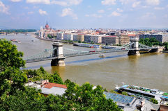 View on Budapest Royalty Free Stock Photography