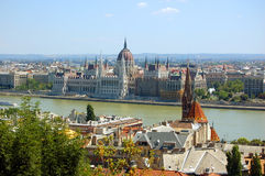 View of Budapest Royalty Free Stock Image