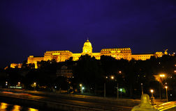 View of Budapest castle Royalty Free Stock Images