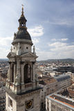 View of the Budapest with the Cathedral of St. Stephan Stock Images