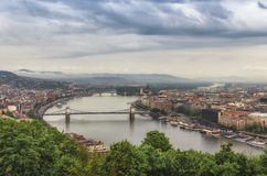 View of Budapest center Royalty Free Stock Image