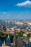 View of Budapest city Royalty Free Stock Image