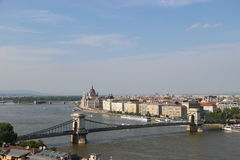 View of Budapest Royalty Free Stock Photos
