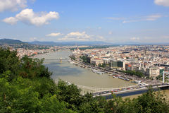 View of Budapest Stock Photography