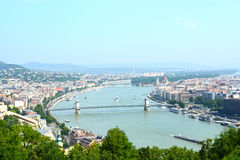 View in budapest Royalty Free Stock Photography