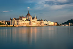 View of Budapest parliament Stock Image