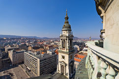 View on Budapest from st. Stephen's Basilica, Hungary Stock Photos