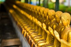 View of buddha statue Stock Image
