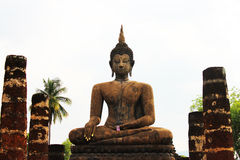 View of buddha statue Stock Images