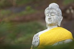 View of buddha statue in Thailand Stock Photos
