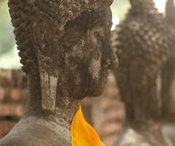 View of buddha statue in Thailand Royalty Free Stock Photography