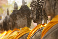 View of buddha statue in Thailand Stock Photography