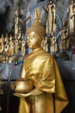 View of buddha statue in Thailand Royalty Free Stock Image