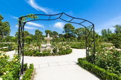 The Buen Retiro Park - Madrid - Spain. A view of the Buen Retiro Park - Madrid - Spain Stock Image