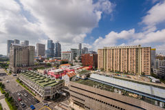 View of Bugis city view Stock Photography